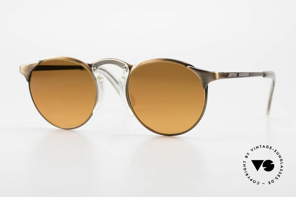 Jean Paul Gaultier 57-0174 90's JPG Panto Sunglasses, premium sunglasses of the Junior GAULTIER Series, Made for Men