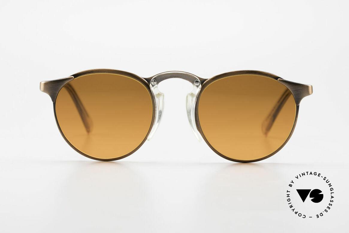 Jean Paul Gaultier 57-0174 90's JPG Panto Sunglasses, classic 'panto style' refined as unique designer piece, Made for Men