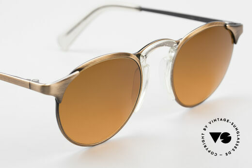 Jean Paul Gaultier 57-0174 90's JPG Panto Sunglasses, NO RETRO sunglasses, but an old original from 1997, Made for Men