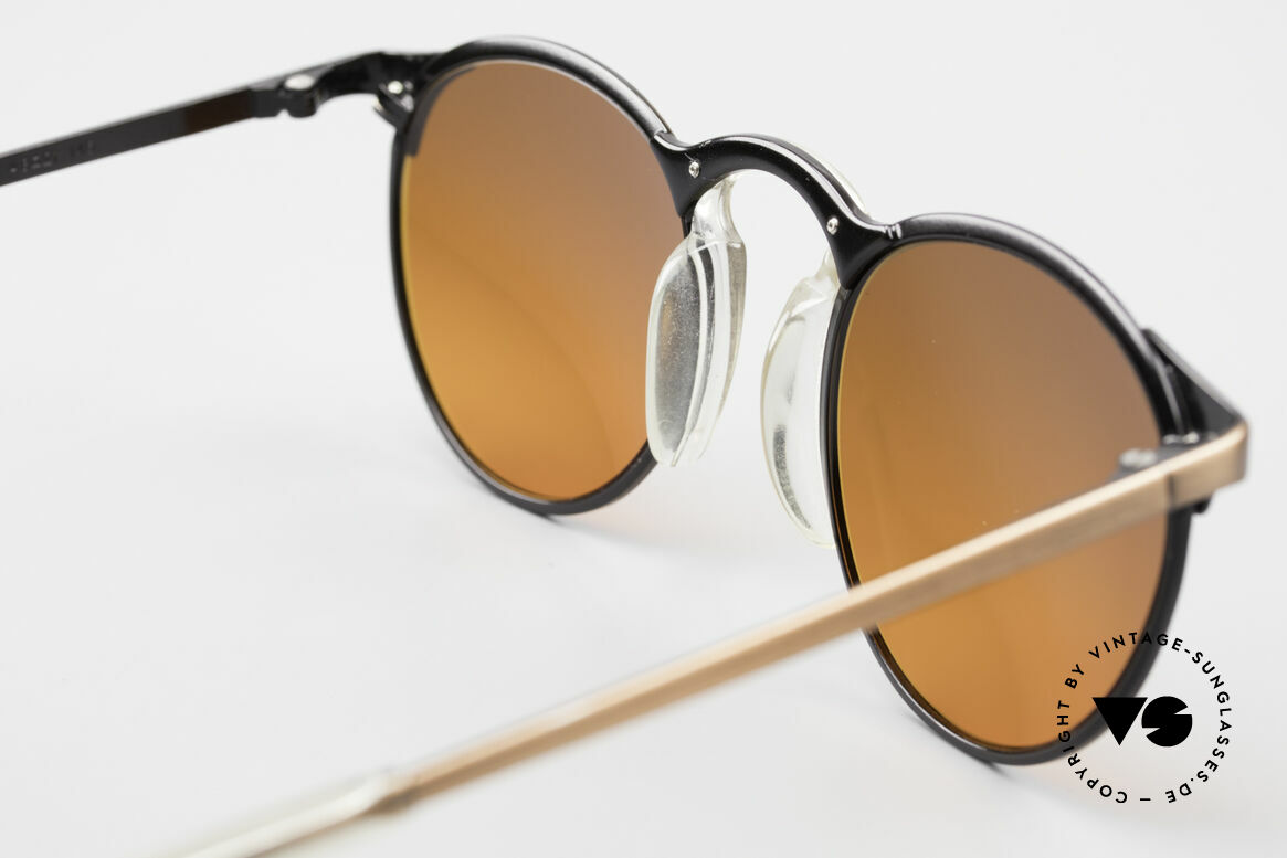 Jean Paul Gaultier 57-0174 90's JPG Panto Sunglasses, the frame (size 48-21) is made for lenses of any kind, Made for Men