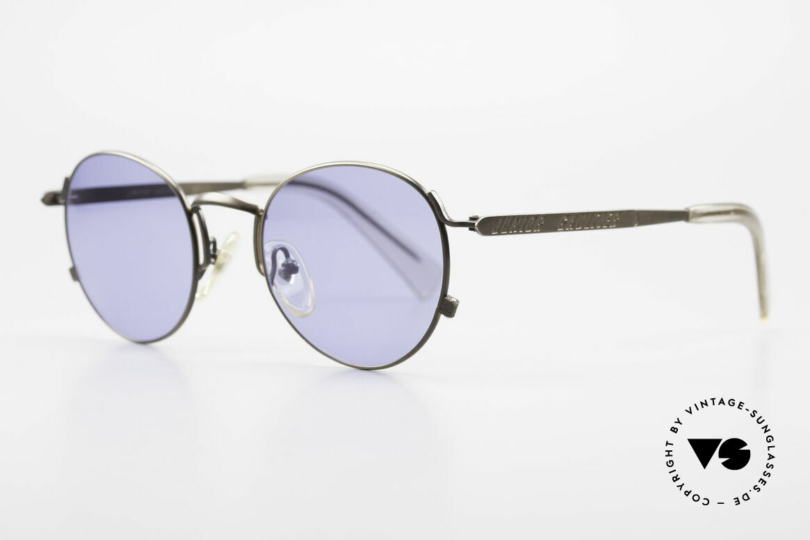 Jean Paul Gaultier 57-1171 90's Designer Sunglasses JPG, tangible top-quality and blue sun lenses; 100% UV, Made for Men and Women