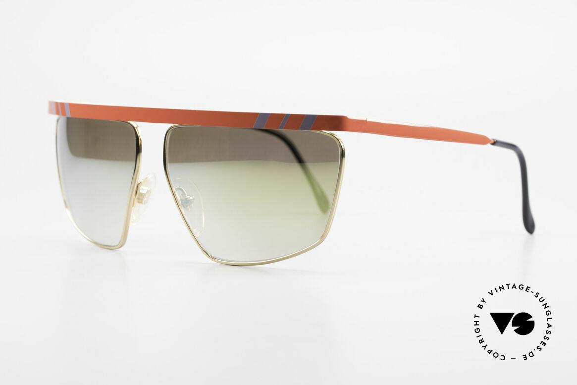 Casanova CN7 Luxury Sunglasses Mirrored, gold-mirrored sun lenses (for 100% UV protection), Made for Men and Women
