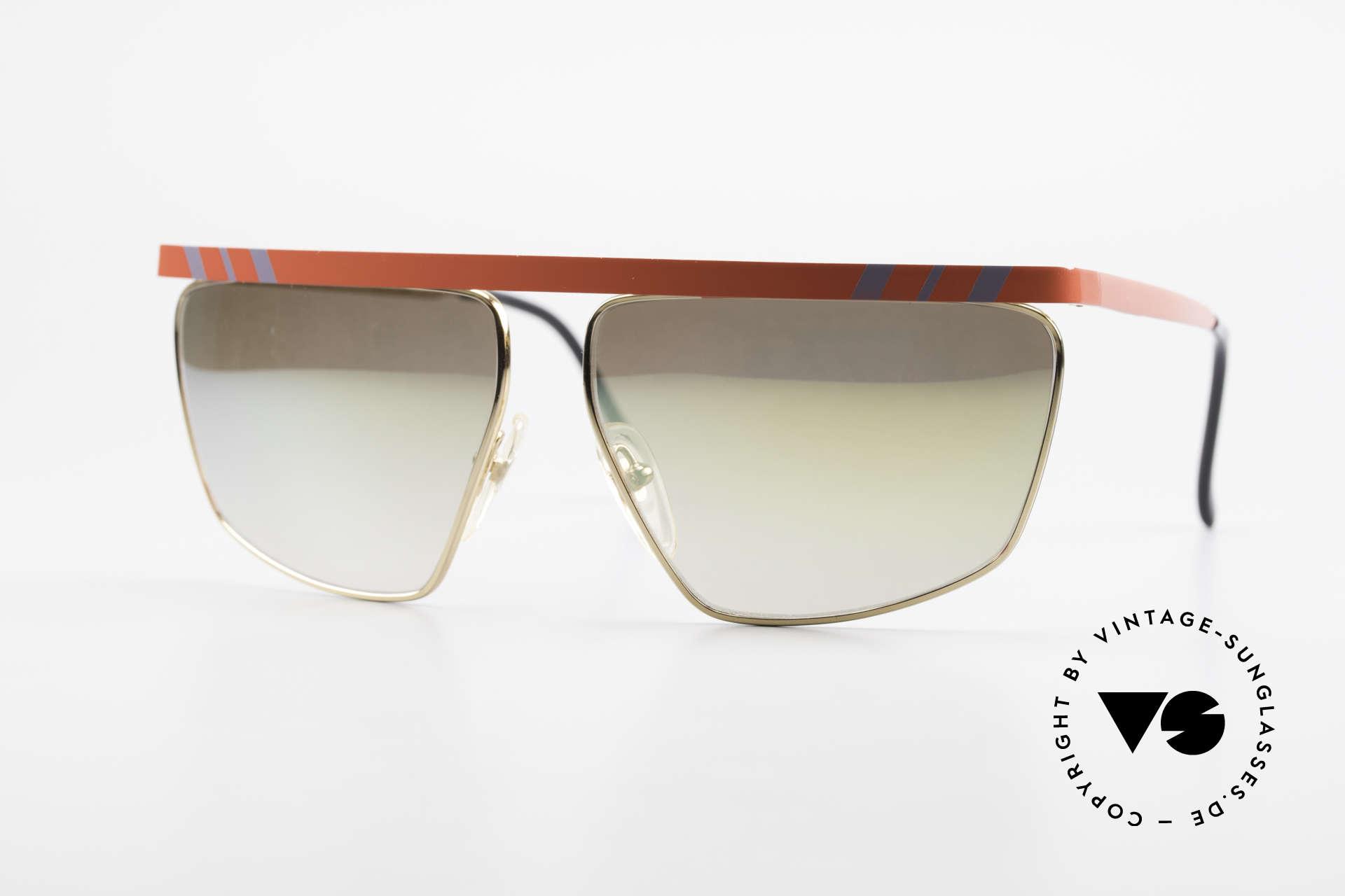 Casanova CN7 Luxury Sunglasses Mirrored, excentric Italian XL sunglasses design by Casanova, Made for Men and Women