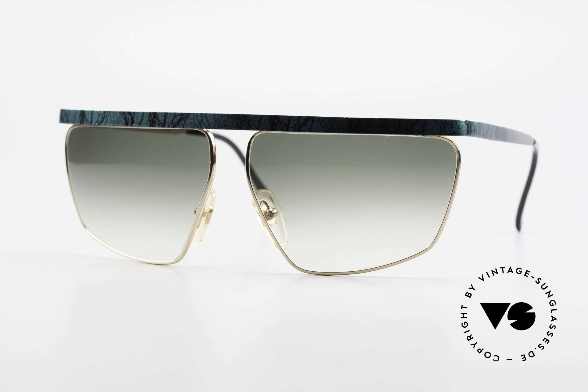 Casanova CN7 Luxury Sunglasses Gold-Plated, excentric Italian XL sunglasses design by Casanova, Made for Men and Women