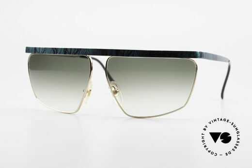 Casanova CN7 Luxury Sunglasses Gold-Plated Details