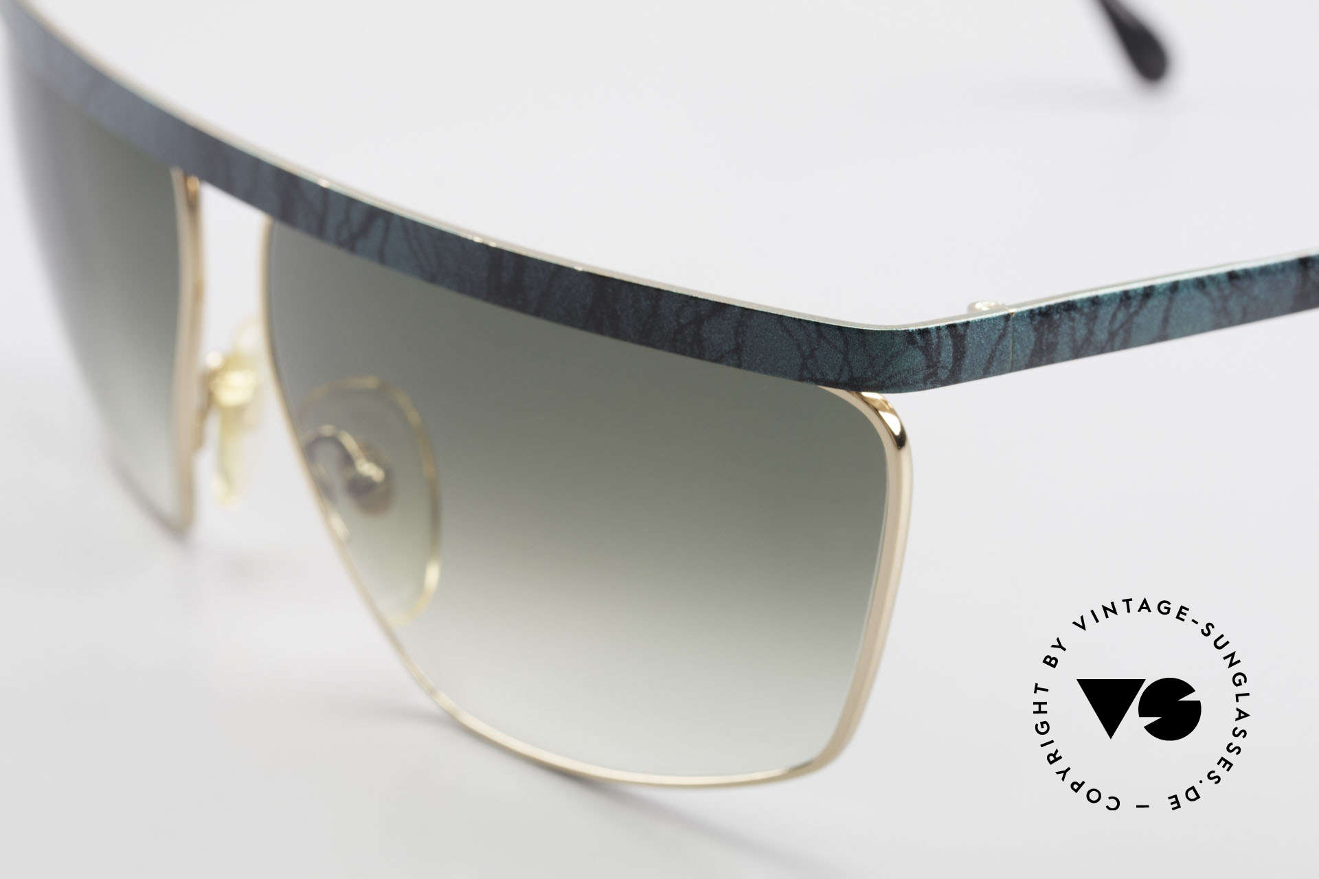 Casanova CN7 Luxury Sunglasses Gold-Plated, unworn (like all our rare sunglasses from the 80's), Made for Men and Women