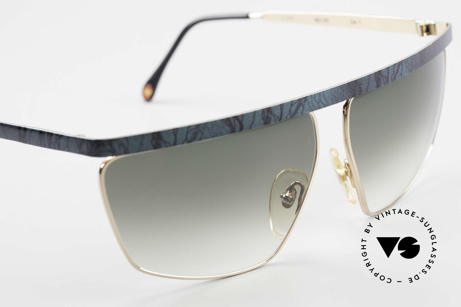 Casanova CN7 Luxury Sunglasses Gold-Plated, NO RETRO sunglasses, but a true vintage ORIGINAL, Made for Men and Women