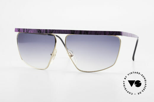 Casanova CN7 Gold-Plated Luxury Sunglasses Details