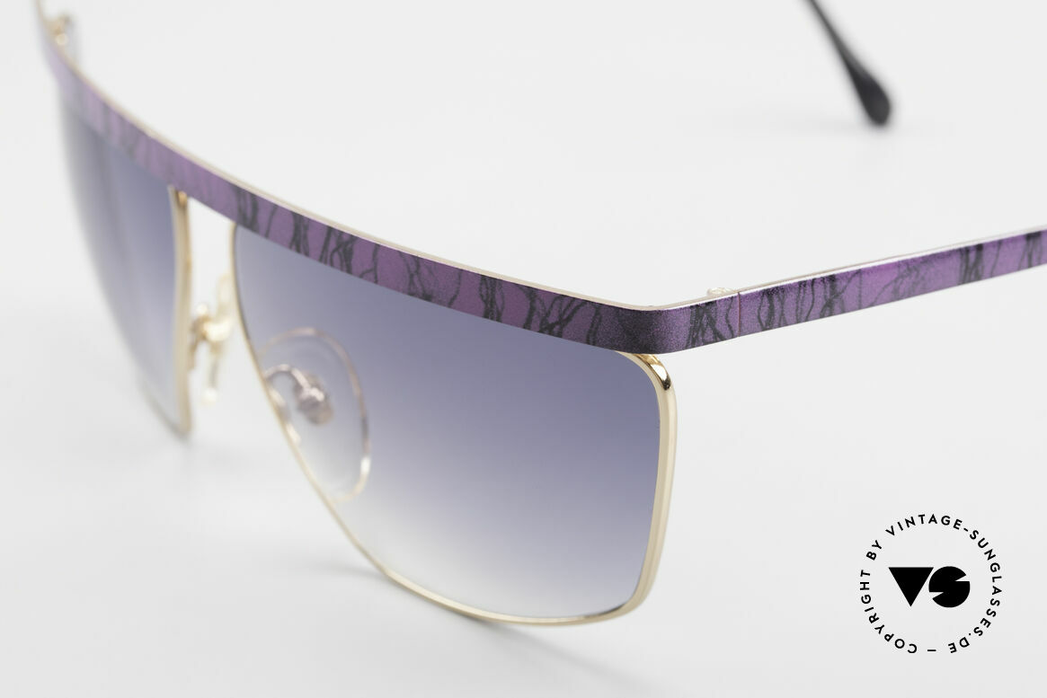 Casanova CN7 Gold-Plated Luxury Sunglasses, unworn (like all our rare sunglasses from the 80's), Made for Men and Women