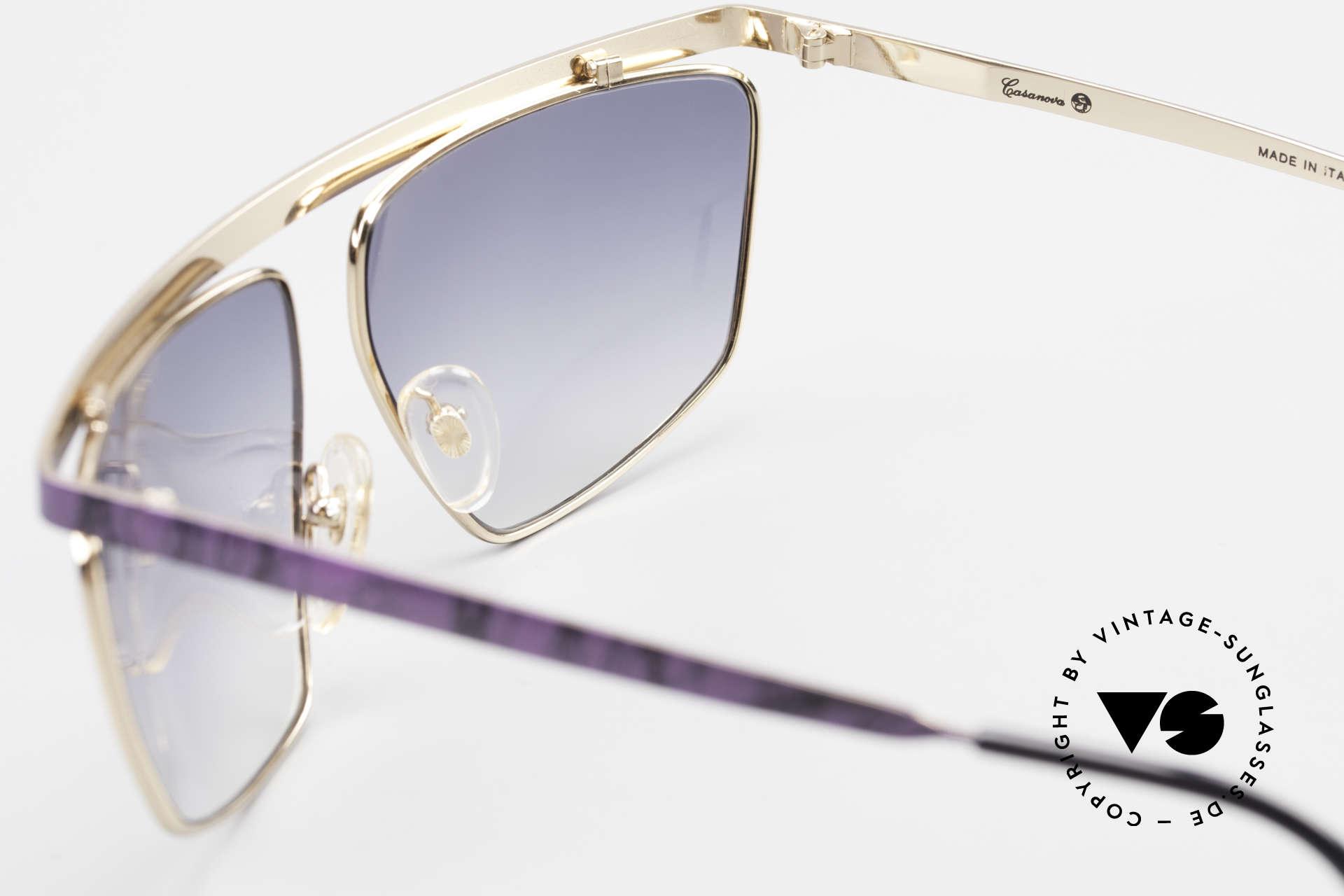 Casanova CN7 Gold-Plated Luxury Sunglasses, Casanova: synonym for frisky & lively frame designs, Made for Men and Women
