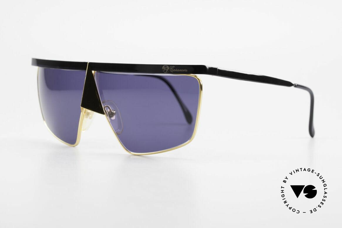 Casanova FC10 24kt Noseguard Sunglasses, design represents the exuberance of the Ven. carnival, Made for Men and Women