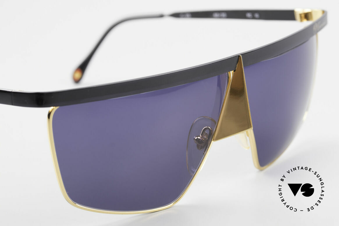 Casanova FC10 24kt Noseguard Sunglasses, meanwhile, a collector's item, worldwide (Gold Plated), Made for Men and Women