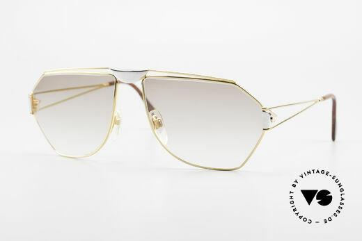 St. Moritz 403 Luxury Jupiter Sunglasses 80s Details