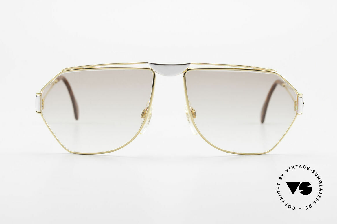 St. Moritz 403 Luxury Jupiter Sunglasses 80s, designer shades with Jupiter symbol on the left temple, Made for Men