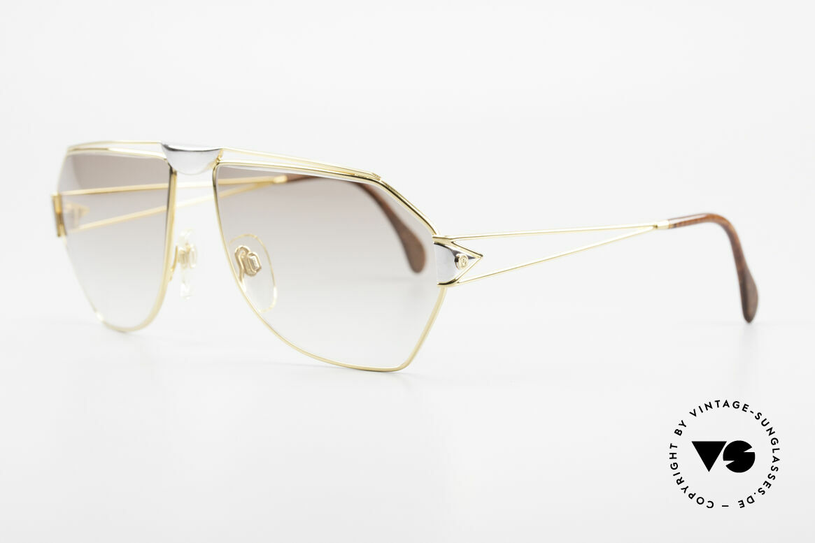 St. Moritz 403 Luxury Jupiter Sunglasses 80s, 80's limited-lot production (every frame is numbered), Made for Men