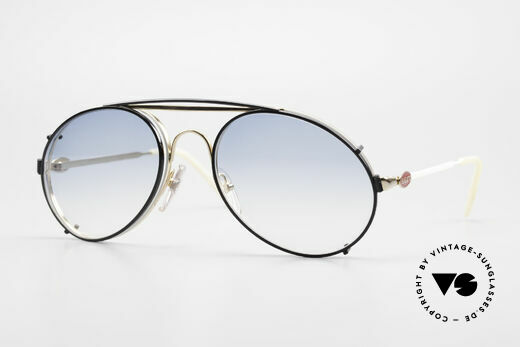 Bugatti 65987 Vintage Frame With Clip On Details
