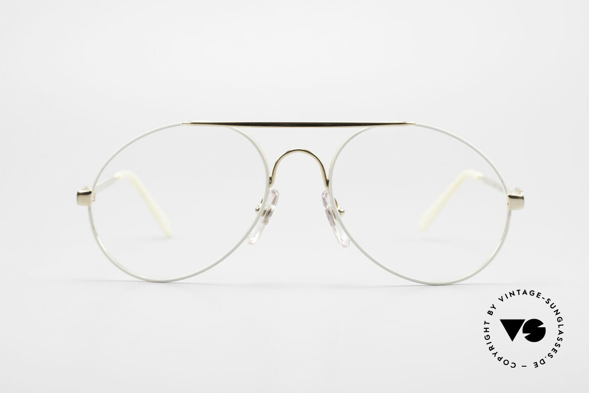 Bugatti 65987 Vintage Frame With Clip On, NO RETRO sunglasses; an ORIGINAL from 1986, Made for Men
