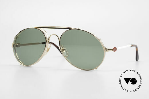 Bugatti 65987 80's Vintage Frame Clip On Details