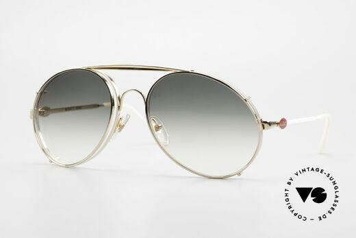Bugatti 65987 XL 80's Vintage Frame Clip On Details
