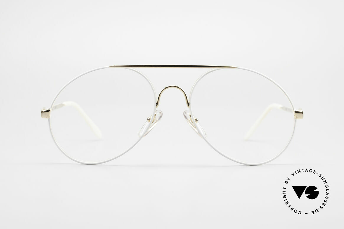 Bugatti 65987 XL 80's Vintage Frame Clip On, NO RETRO sunglasses; an ORIGINAL from 1986, Made for Men