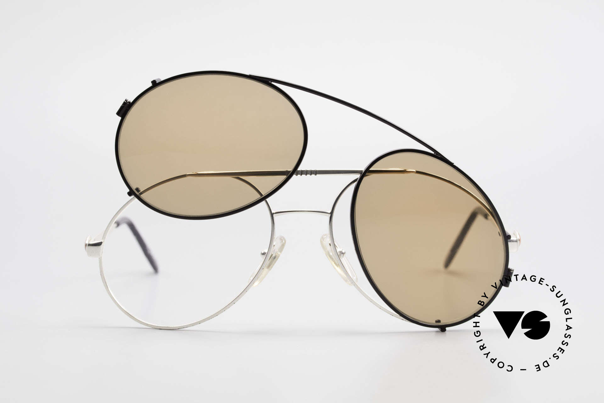Bugatti 65996 Vintage Frame With Clip On, unworn; like all our vintage Bugatti sunglasses, Made for Men