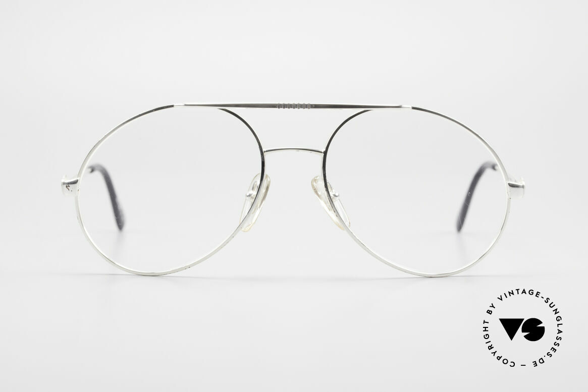 Bugatti 65996 80s Vintage Frame With Clip On, NO RETRO sunglasses; an ORIGINAL from 1986, Made for Men