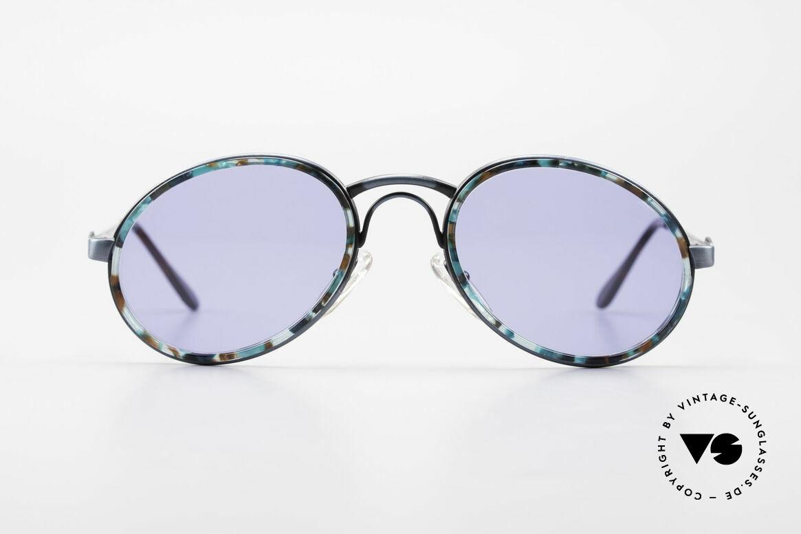 """Bugatti 03328T 80's Bugatti Men's Sunglasses, unique frame finish in """"antique blue"""" & """"mosaic blue"""", Made for Men"""