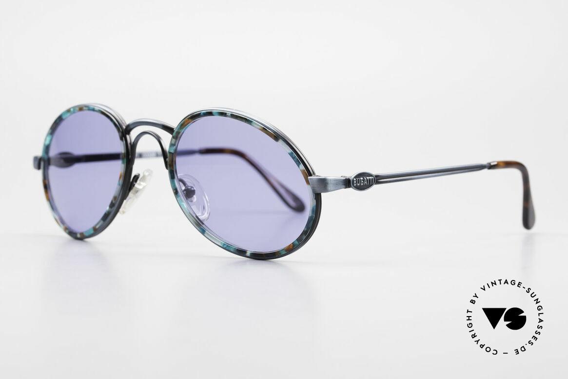 Bugatti 03328T 80's Bugatti Men's Sunglasses, top notch quality (flexible spring hinges) + orig. case, Made for Men