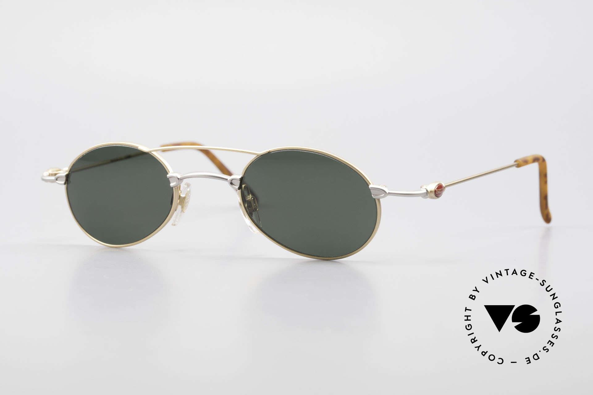 Bugatti 10868 Luxury Vintage Sunglasses Men, wispy & leightweight designer sunglasses by Bugatti, Made for Men