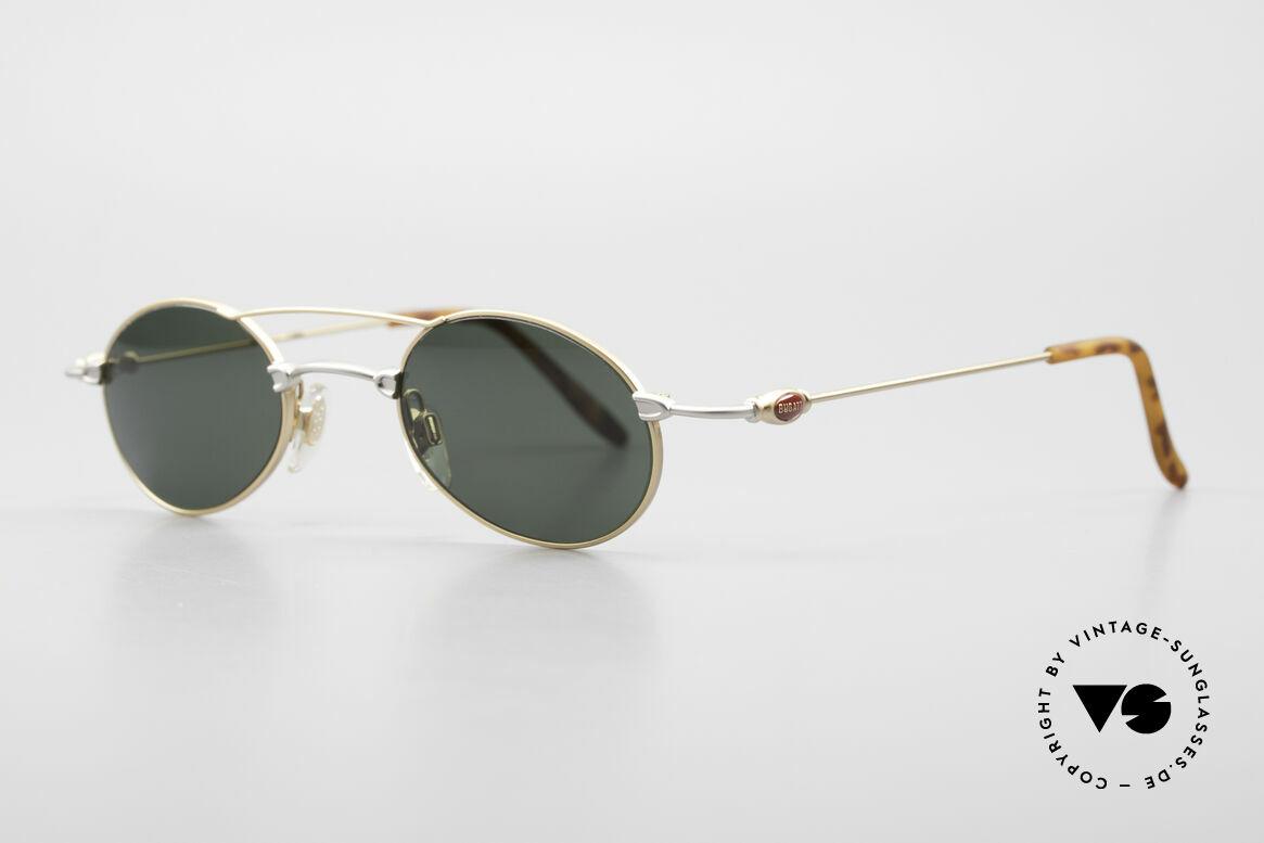 Bugatti 10868 Luxury Vintage Sunglasses Men, classic and timeless design (gentlemen's sunglasses), Made for Men