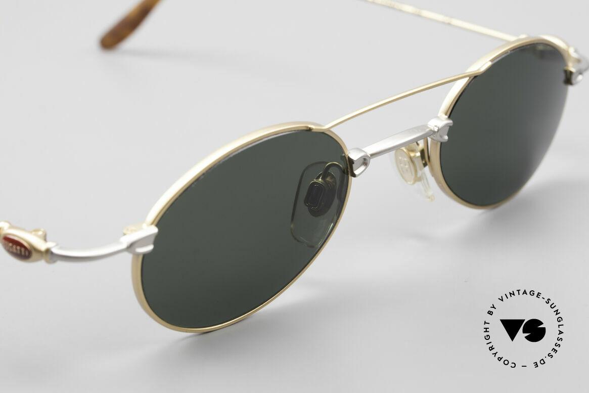 Bugatti 10868 Luxury Vintage Sunglasses Men, NO RETRO fashion, but a unique 25 years old original, Made for Men