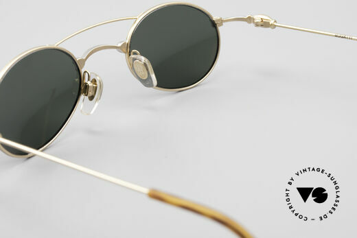 Bugatti 10868 Luxury Vintage Sunglasses Men, green sun lenses could be replaced with optical lenses, Made for Men
