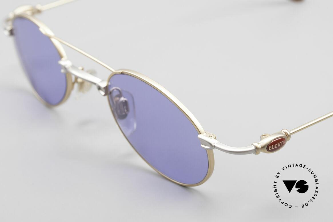 Bugatti 10868 Luxury Men's Sunglasses 90's, unworn rarity of the late 90's (incl. Bugatti hard case), Made for Men