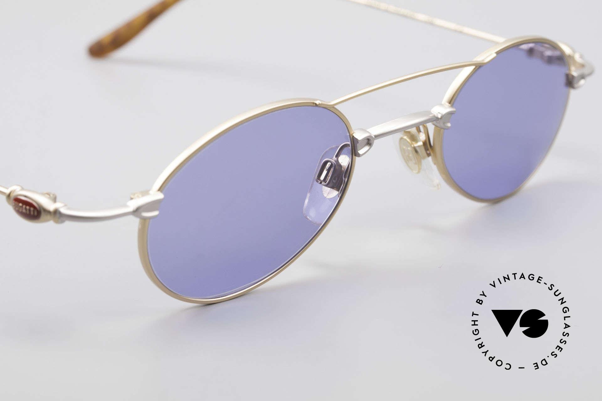 Bugatti 10868 Luxury Men's Sunglasses 90's, NO RETRO fashion, but a unique 25 years old original, Made for Men