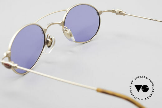 Bugatti 10868 Luxury Men's Sunglasses 90's, blue sun lenses could be replaced with optical lenses, Made for Men