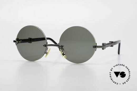 Cartier Composite Madison Small Round Ladies Shades Details