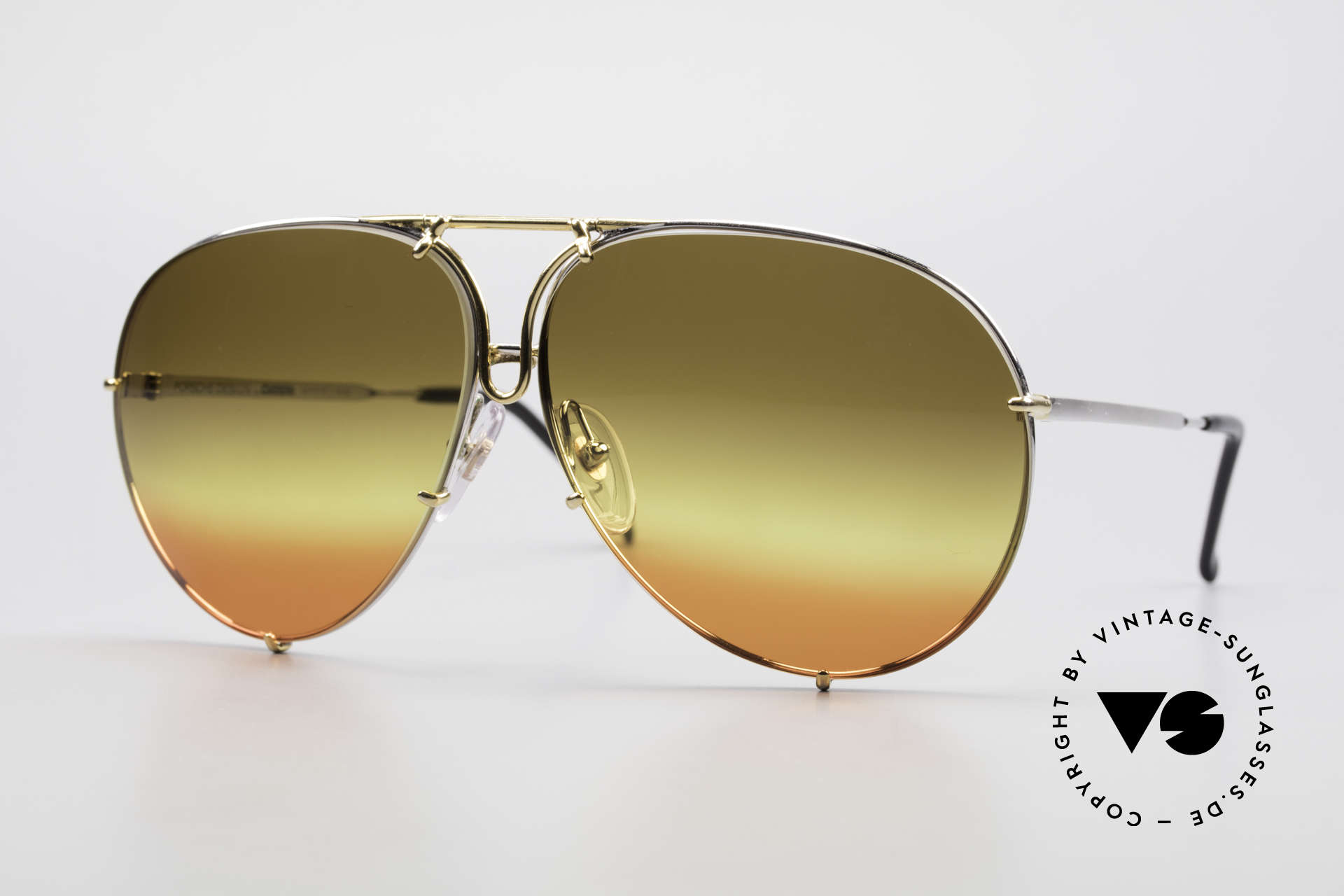 Porsche 5623 One Of A Kind 80's Customized, vintage Porsche Design by Carrera shades from 1987, Made for Men and Women