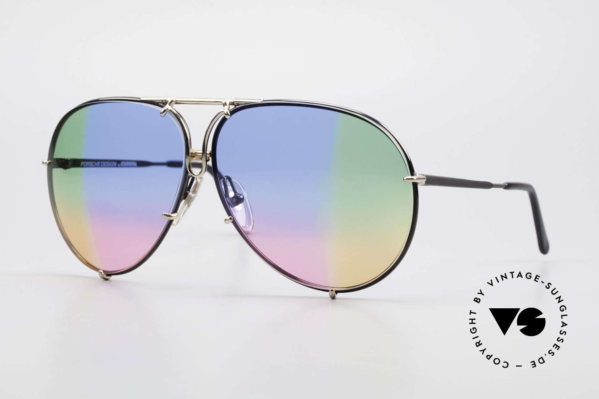 Porsche 5623 One Of A Kind 4times Gradient, vintage Porsche Design by Carrera shades from 1987, Made for Men and Women