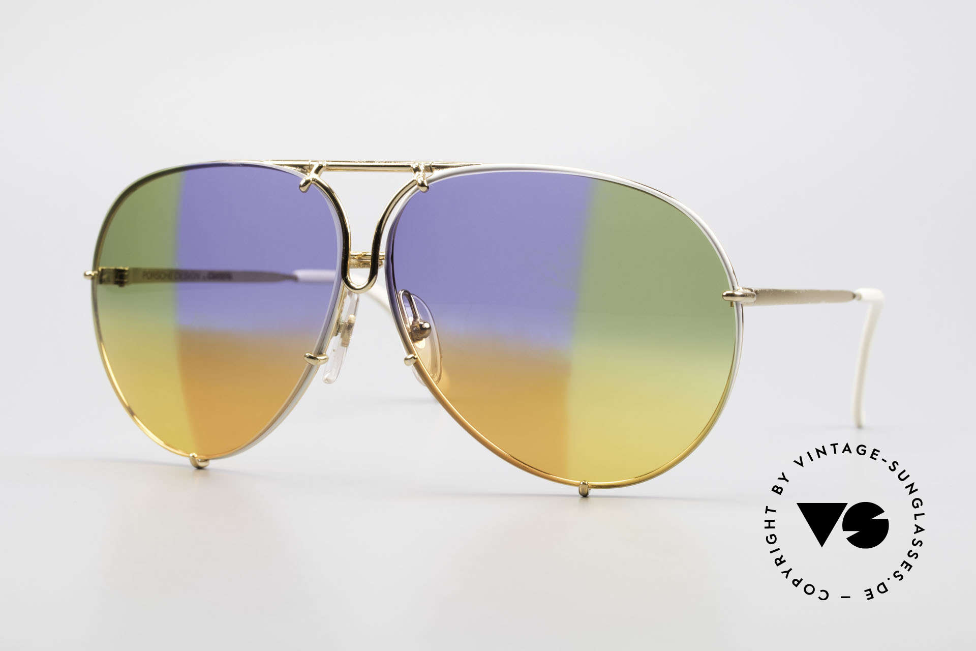 Porsche 5623 One Of A Kind Collector's Item, vintage Porsche Design by Carrera shades from 1987, Made for Men and Women