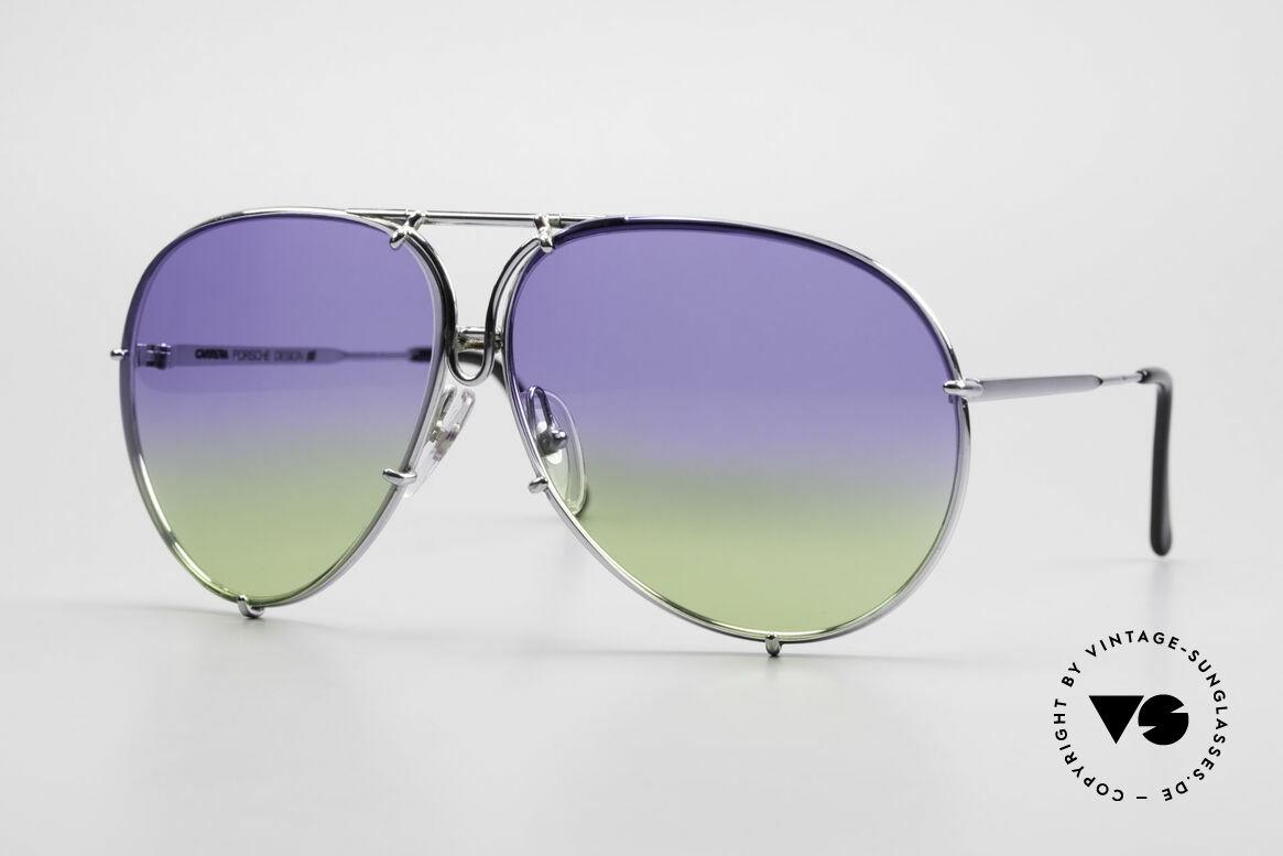 Porsche 5623 Collector's Sunglasses Vertu, vintage Porsche Design by Carrera shades from 1987, Made for Men and Women