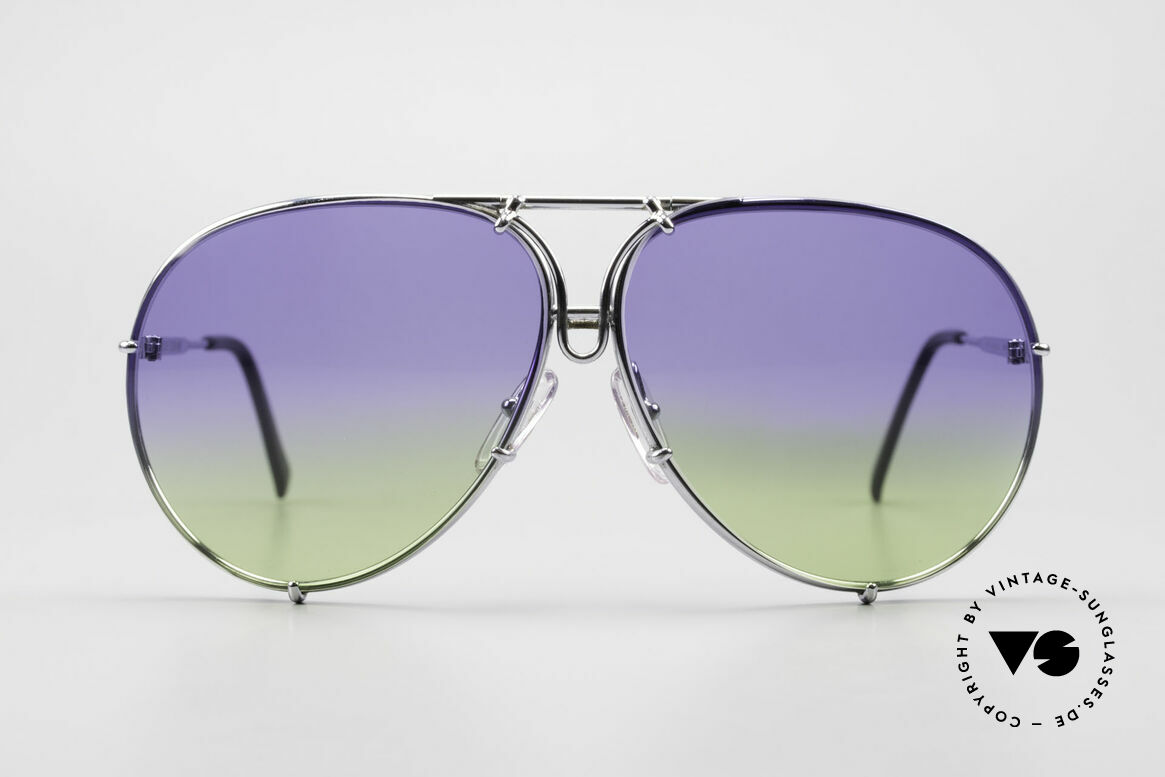Porsche 5623 Collector's Sunglasses Vertu, the legendary classic with the interchangeable lenses, Made for Men and Women