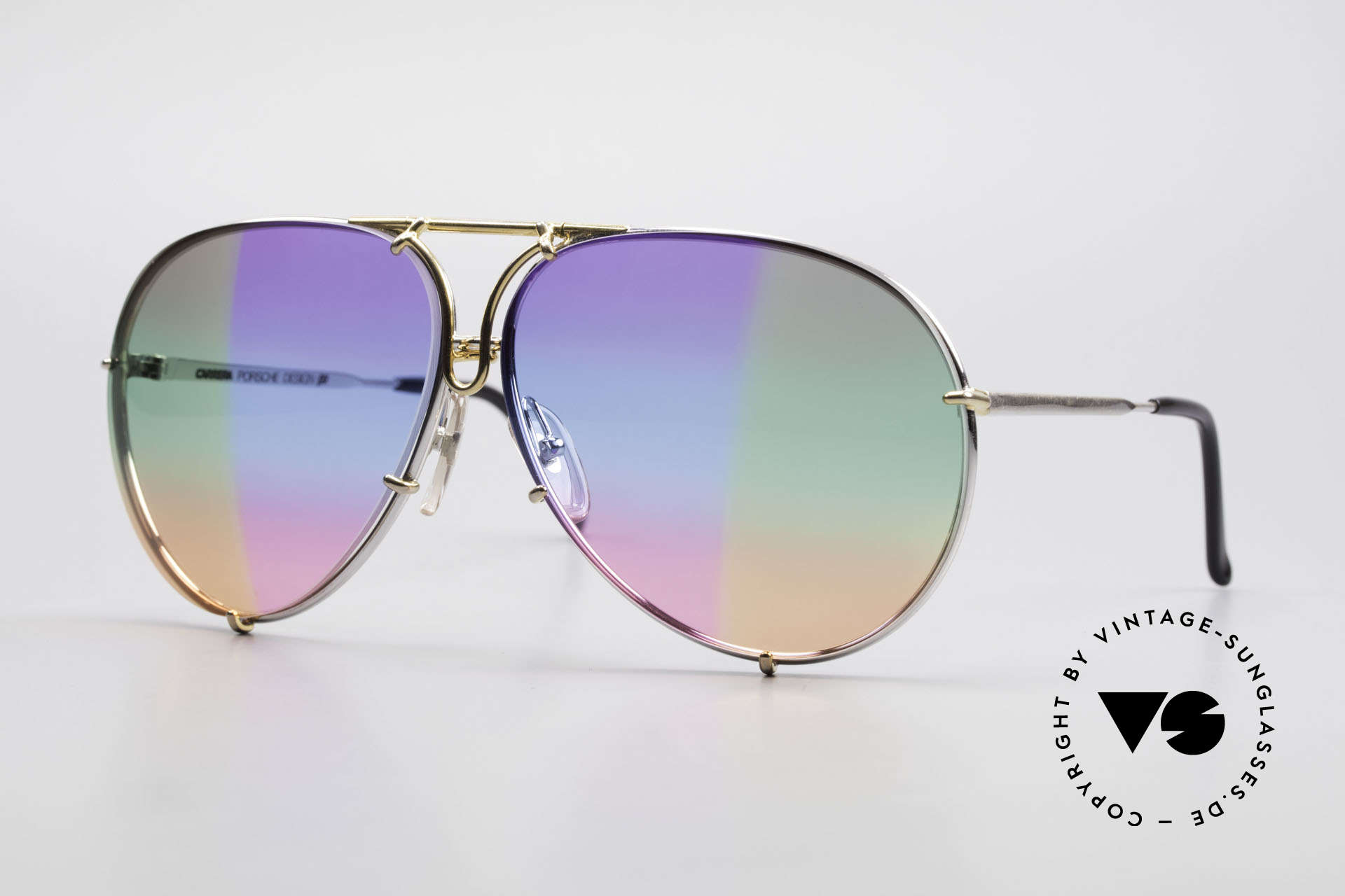 Porsche 5623 One Of A Kind 6times Gradient, vintage Porsche Design by Carrera shades from 1987, Made for Men and Women