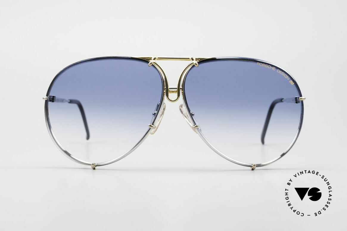 Porsche 5623 One Of A Kind 6times Gradient, comes with extra blue-gradient sun lenses & orig. case, Made for Men and Women