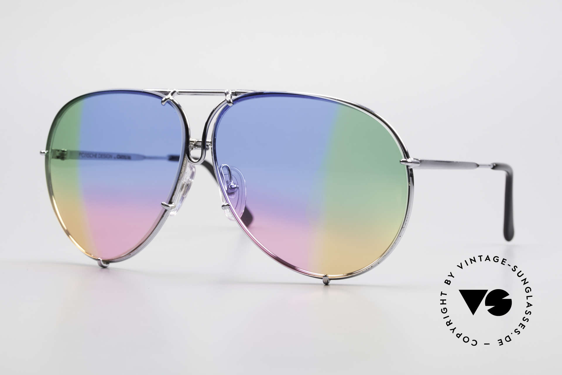 Porsche 5623 One Of A Kind 4times Colored, vintage Porsche Design by Carrera shades from 1987, Made for Men and Women