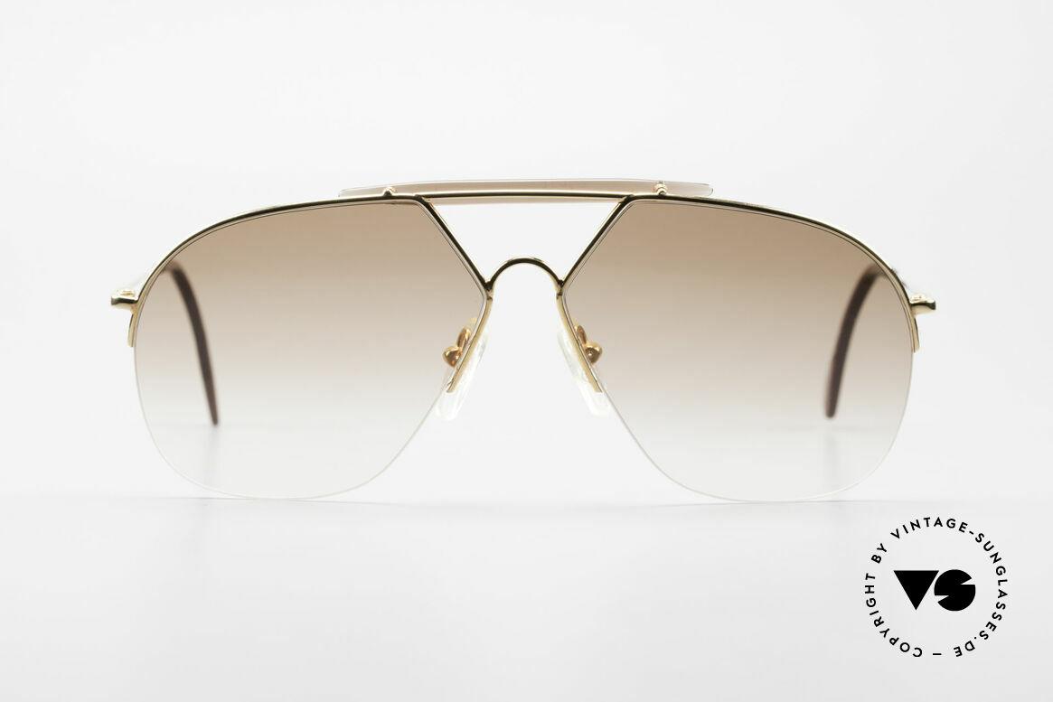 Alpina TR8 Rimless 80's Aviator Frame, rare Alpina 80's sunglasses (made in W.Germany), Made for Men