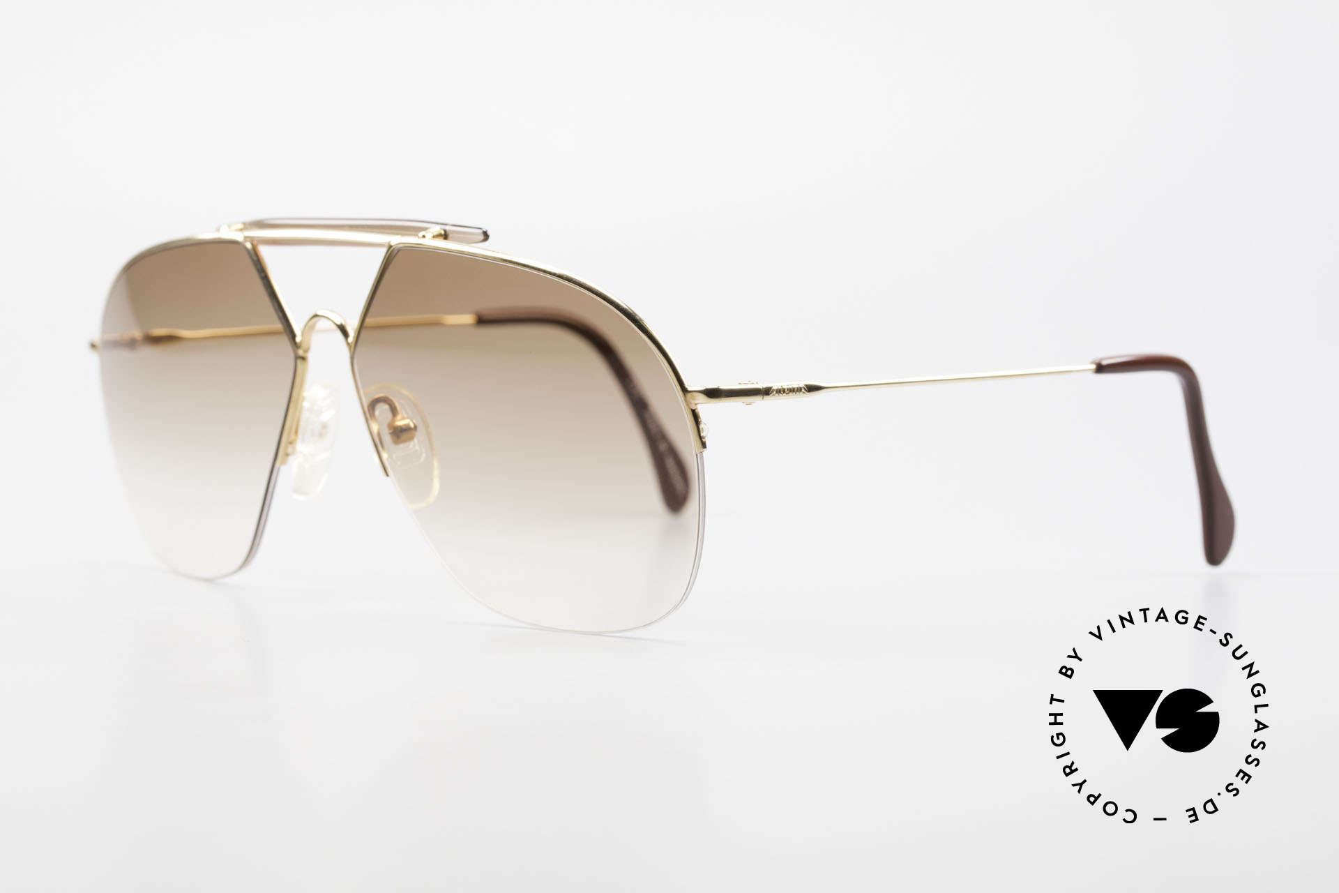 Alpina TR8 Rimless 80's Aviator Frame, high functionality & best craftsmanship (100% UV), Made for Men