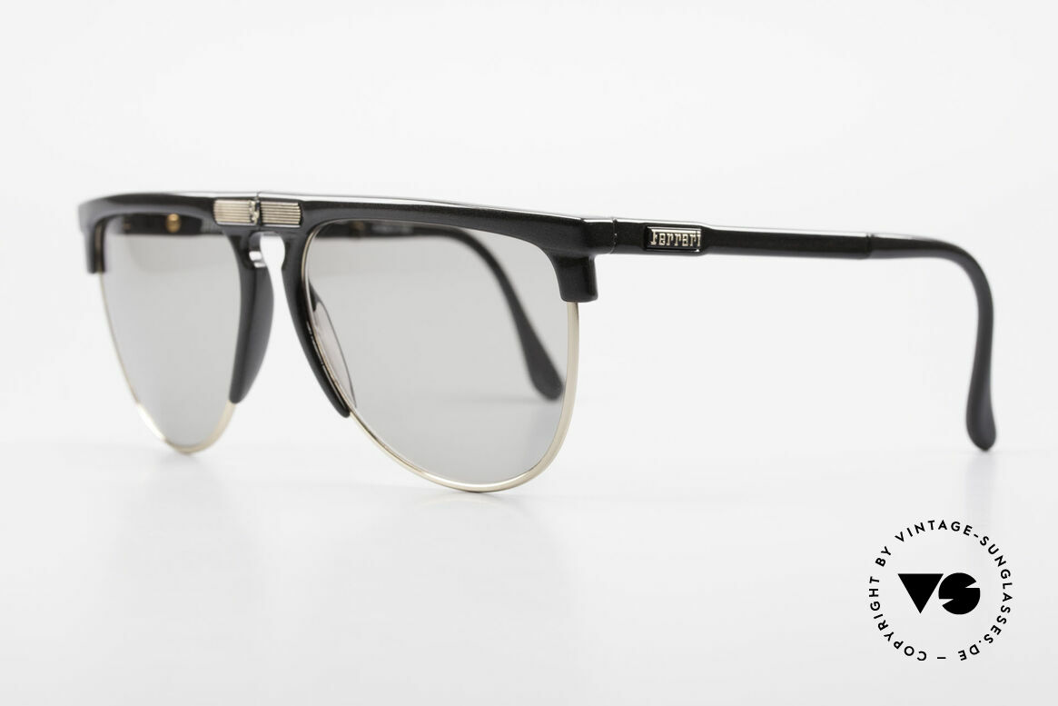 Ferrari F27/S Carbonio Folding Shades 90's, high-class carbon frame and finest Italian quality, Made for Men