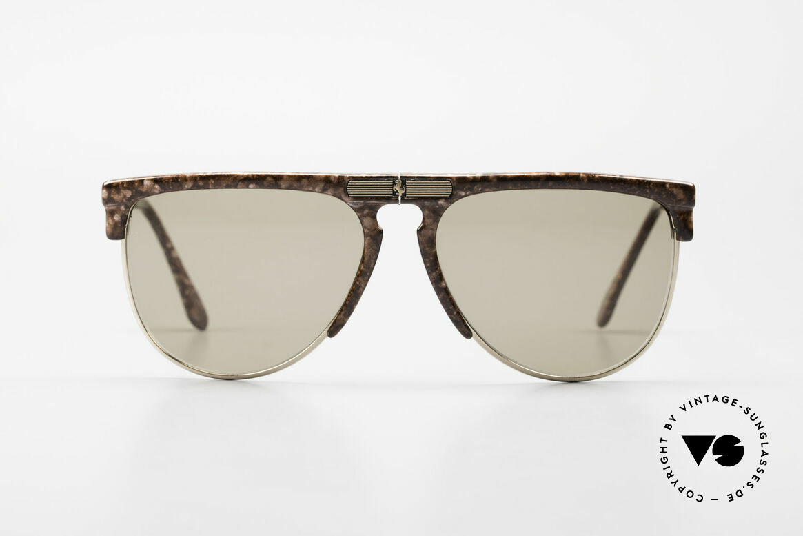 Ferrari F27/S Rare Carbonio Folding Shades, orig. model name:  F27/S, col. 803, size 59/16, 140, Made for Men