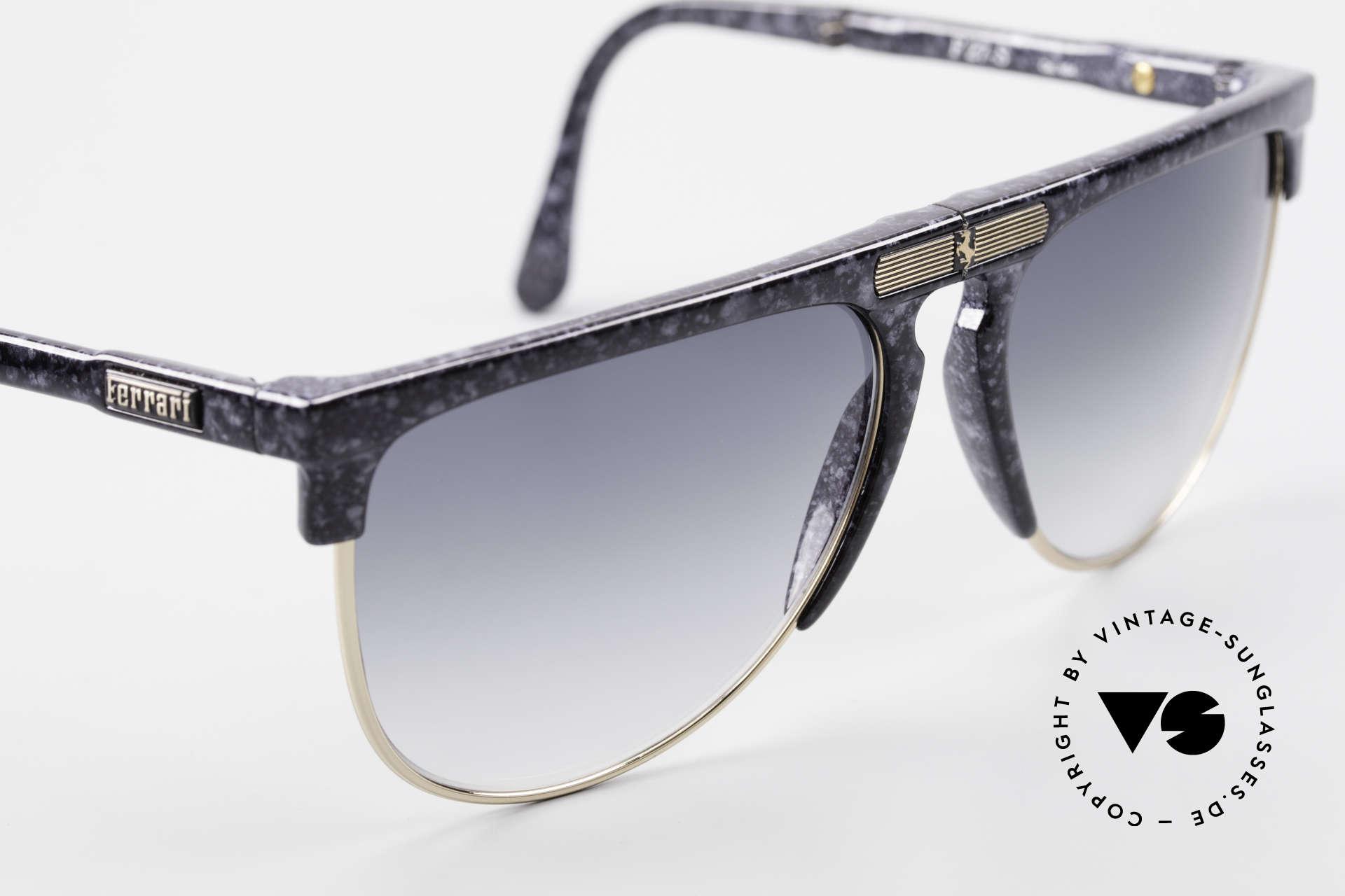 Ferrari F27/S Carbonio Folding Shades Rare, unworn (like all our rare Ferrari folding sunglasses), Made for Men