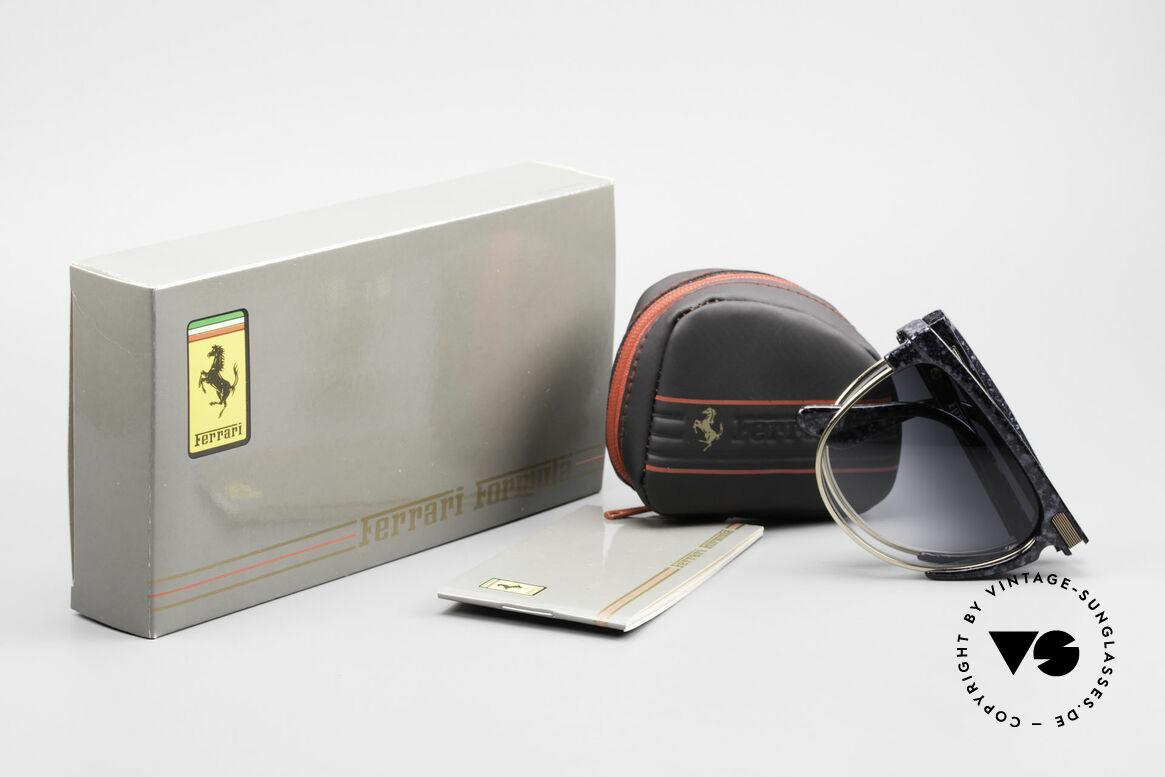 Ferrari F27/S Carbonio Folding Shades Rare, Size: large, Made for Men